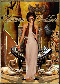 Incognita Drama Goddess Collage Design