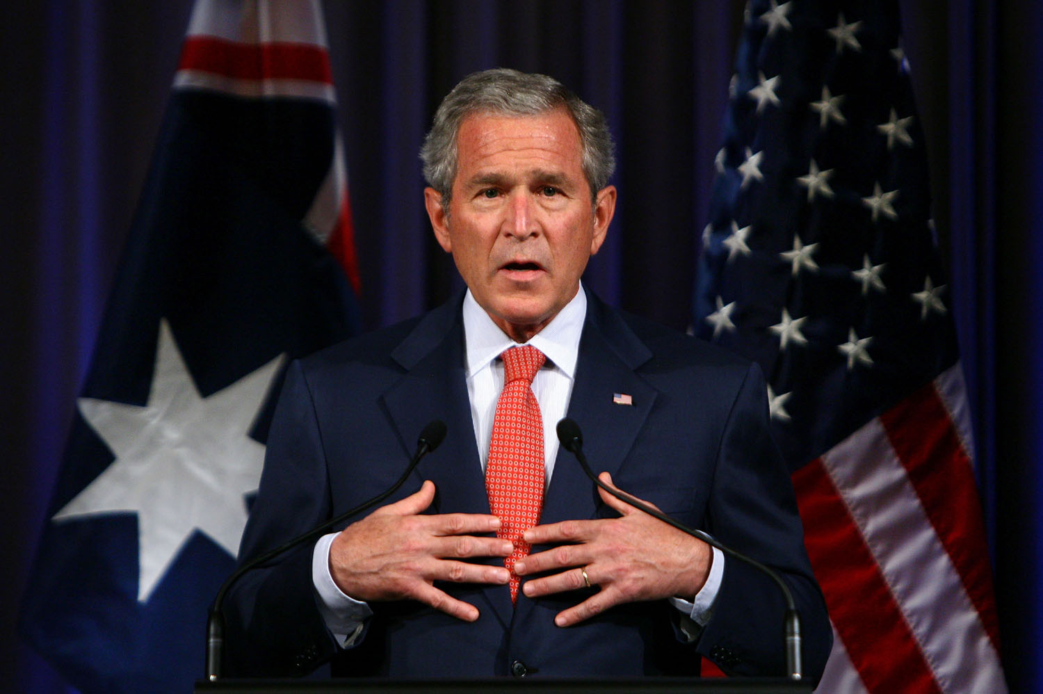 persuasive essay on president bush being not re-elected On presidential power not just to the president this essay is not a brief on behalf of the bush administration's exercise of executive authority in the.