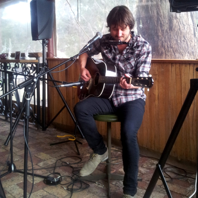Lachlan Bryan performs at Hickinbotham Winery, Dromana - July 22, 2012
