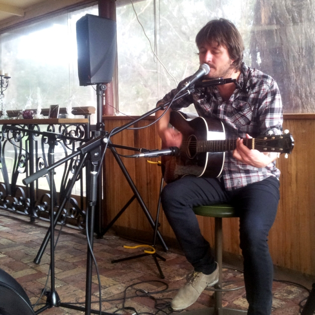 Lachlan Bryan performs at Hickinbotham Winery, Dromana – July 22, 2012